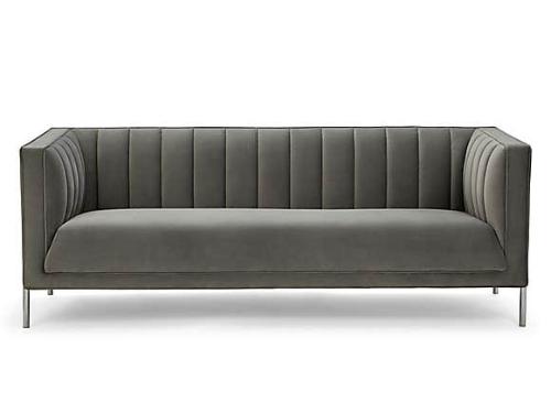 Bellamy velvet 3 seater sofa for Sale