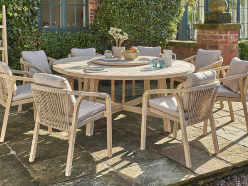 Garden and outdoor table set