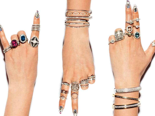 Hand accessories and jewellery