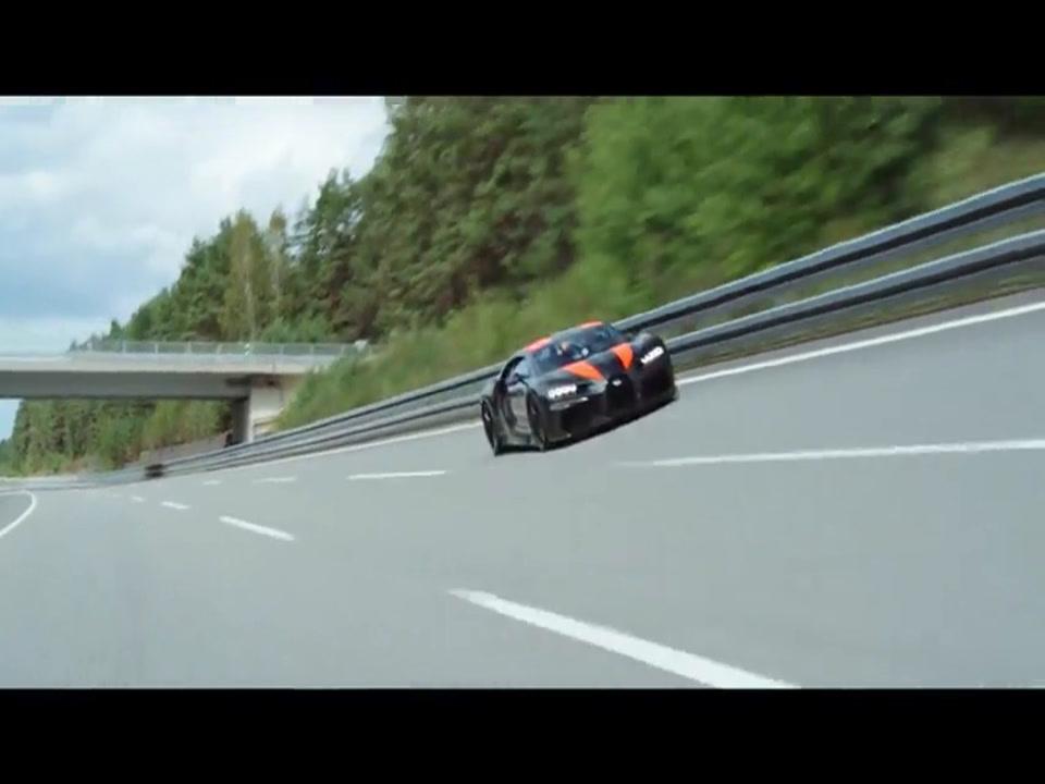 Bugatti Chiron - 490 Kilometers per hour